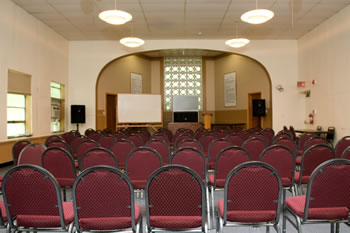 interior of chapel or meeting room